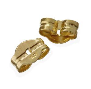 1paar Echte 333 Gelbgold Ohrmutter Ohrringe Ohrstecker Pousetten Ohrstopper 2000