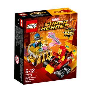 LEGO® Marvel Super Heroes™ Mighty Micros: Iron Man vs. Thanos 76072