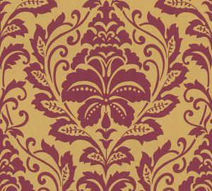 A.S. Création Barocktapete Attractive Tapete mit Ornamenten Vliestapete gold rot 10,05 m x 0,53 m