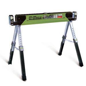 TrutzHolm® Stahl Sägebock Arbeitsbock höhenverstellbar 590 kg klappbar Werkbock