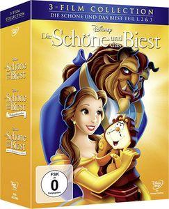 Disney Die Schöne und das Biest Dreierpack [DVD]