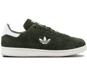 adidas Originals Stan Smith Premium - Herren Schuhe Grün B37896 , Größe: EU 42 UK 8