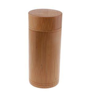 Teekanister Bambus Japanische Teedose Vorratsglas mit Deckel Teedose Topf A EIN Als Bilder gezeigt