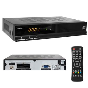 Digitaler Satelliten-Receiver, Free to Air (FTA), SCART, Display, EPG, DVB-S