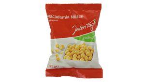 Jeden Tag Macadamia-Nüsse gesalzen 125g