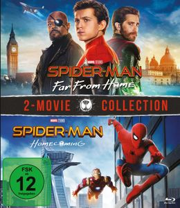 Spider-Man: Far from home & Spider-Man: Homecoming  [2 BRs] - Blu-ray Boxen