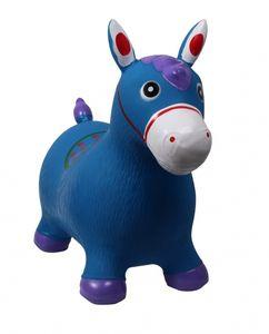 ARBO-INOX® Hüpfpferd Hüpftier Kinderhüpfpferd QHP Farbe - blau