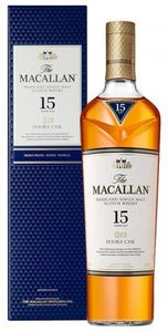 Macallan 15 Jahre Double Cask Highland Single Malt Scotch Whisky 0,7l, alc. 43 Vol.-%