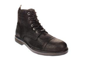 Pepe Footwear PMS50161 HUBERT SUEDE - Herren Schuhe Freizeitschuhe - 999-black, Größe:44 EU