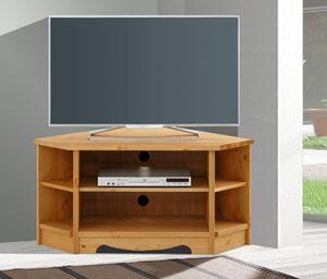 Lowboard TV-Board TV-Element eckig 105cm Kiefer Massiv natur geölt