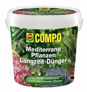 COMPO Mediterraner Pflanzen Langzeit-Dünger 1,5 kg