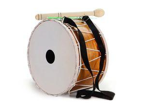 Orientalische Kinder DAVUL 23 cm. Dhol Drum Schlagzeug Davul 100% Handmade Komplett-Set