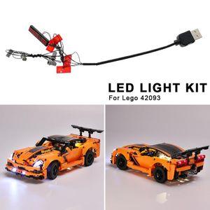 Technik Led Licht Fš¹r Chevrolet Corvette Zr1 42093 Geb?ude Kit