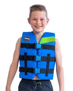 Jobe Schwimmweste Nylon Vest Youth Blue PCS.