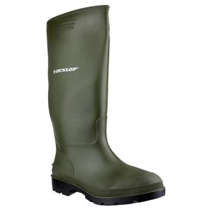 Dunlop Unisex Pricemastor Gummistiefel für Erwachsene TL753 (42 EU/8 UK) (Grün)