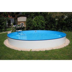 Summer Fun Stahlwandbecken Java Exklusiv rund ø 3,00m x 1,20m Folie 0,6mm Einzelbecken Pool Rundpool / 300 x 120 cm Stahlwandpool Rundbecken
