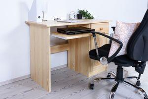 Kiefer Schreibtisch massiv