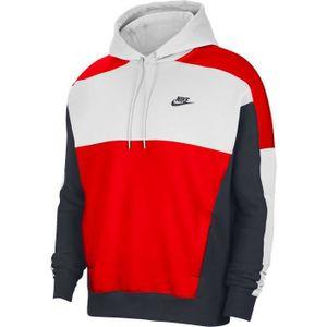 Nike M Nsw Hoodie Po Bb Cb White/Obsidian/University L