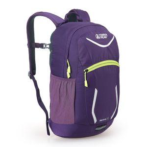 Terra Peak Rucksack Venture 22 Urlaub Freizeit Allround verschiedene Farbvarianten, Farbe:purple/lime