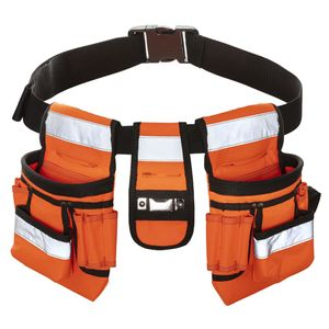 Toolpack Werkzeuggürtel Hochsichtbar Sash Orange und Schwarz