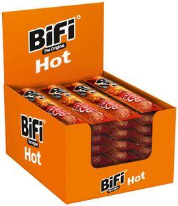 BiFi Original Hot 40 x 22,5 g Salami Geräucherte & Pikante Mini Wurstsnack