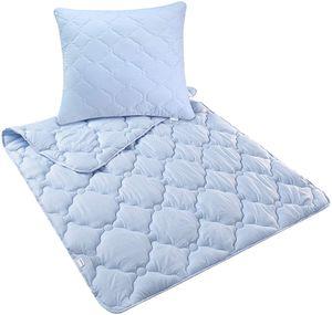 Bett-Set Lavendel Kopfkissen + Bettdecke 80x80 + 135x200 cm | Aromatherapie