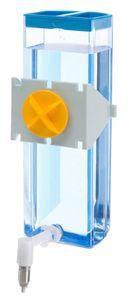 trinkflasche Sippy 600 ml 24 cm Stahl blau/transparent