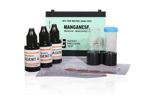 Mangan im Wasser messen Mangan im Brunnenwasser Mangan-Indikator zur Manganwert-Bestimmung von Aquintos