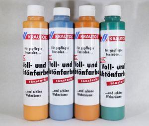 Krautol Voll- und Abtönfarbe innen/außen 0,75 Liter Farbwahl, Farbe:Bermuda