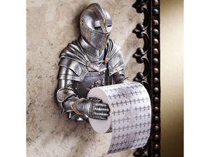 Toilettenpapier Abroller Ritter