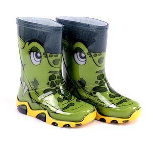 DEMAR Kinder Gummistiefel Regenstiefel reflektierend Stormer Krokodil Tiermotiv 20/21