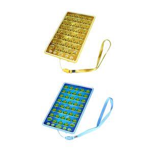 2x Vorschüler Arabisch Koran Elektronisches Tablet Spielzeug, Geschenk für Geburtstag und Weihnachten