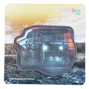 Ergobag KLE-CUS-003-007 Kontur-Klettie 1-tlg. Kipplaster