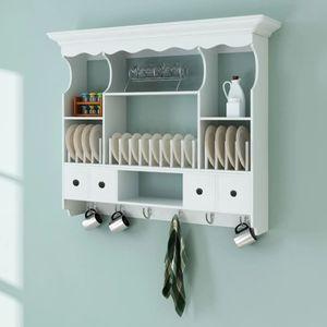 Küchenhängeschrank Küchenzeile Küche Küchenblock Einbauküche | Holz Weiß | 75196