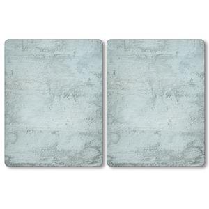 Kesper XL Herdabdeckplatte - Motiv: Beton, 50 x 38,5 x 0,8 cm 3664013