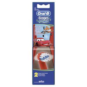 Oral B Stage Power Cars 2 Aufsteckbürsten