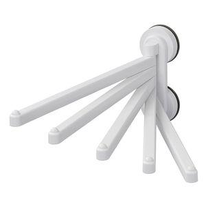 Handtuchhalter mit Saugnäpfen - schwenkbar - 5 Arme
