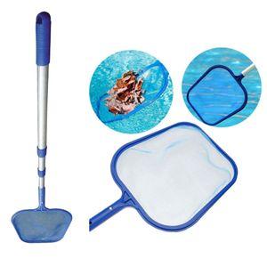 Kescher Leaf Skimmer Netz mit Griff für Schwimmbad, Teich, Whirlpool, Brunnen oder großen Aquarium