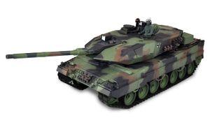 "Leopard 2A6 Rauch & Sound 1:16, Metallgetriebe ""Advanced Line"" Version 7.0, inkl. IR-Kampfmodul"