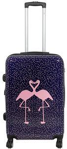 Koffer Trolley Gr. L mit Motiv PM Kissing Flamingos