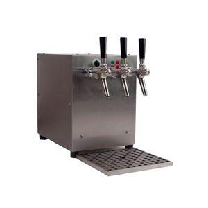 Getränke-Durchlauferhitzer, 3-leitig mit integriertem Luftkompressor, 9kW, Edelstahl-Gehäuse