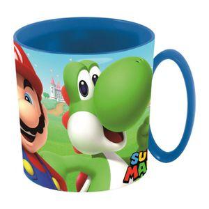Super Mario Kakaotasse 350ml Kunststoff BPA-frei Mario & Yoshi
