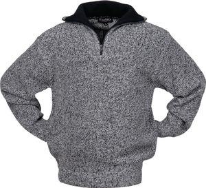 Pollver Troyer Gr.XL schwarz/weiß-meliert 100% Polyester