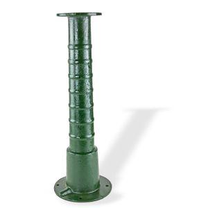 Pumpenständer Ständer für Gartenpumpe Schwengelpumpe 'Klassik' 30992 Guß grün