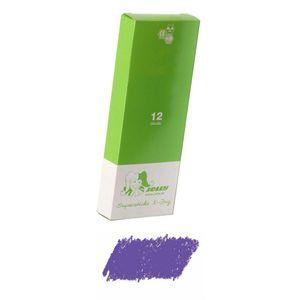 Jolly 3099-0014 X-Big X-BIG Farbstifte, violett (12er Pack)