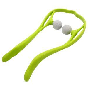 Manuelles Halswirbelsäulenmassagegerät für den Haushalt und Dekompressionsclip für die Nackenmassage