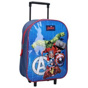 Marvel trolley-Koffer Avengers junior 15 Liter Polyester blau/rot