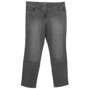 23052 Gerry Weber, Romy,  Damen Jeans Hose, Stretchdenim, mittelgrau, D 46 Inch 36 L 32