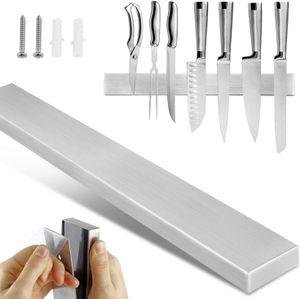 Magnetleiste Küchen Messerhalter Messer blöcke Magnetleiste Werkzeughalter Edelstahl 40cm