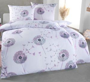 Kuscheli® Bettwäsche 135x200 4 teilig     & für Allergiker geeignet  Bettwäsche Set mit je 2 Bettbezügen 135 x 200 & Kissenbezügen 80x80   modern & hochwertig, Farbe:D02